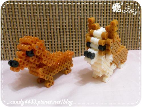 拼豆-立體狗狗