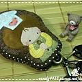 可愛小廚娘菇菇鑰匙包3