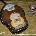 可愛小廚娘菇菇鑰匙包1