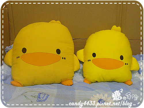 黃色小鴨抱枕01