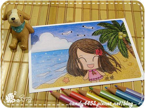 夏日風情-沙灘散步2