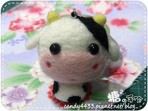 羊毛氈-乳牛01