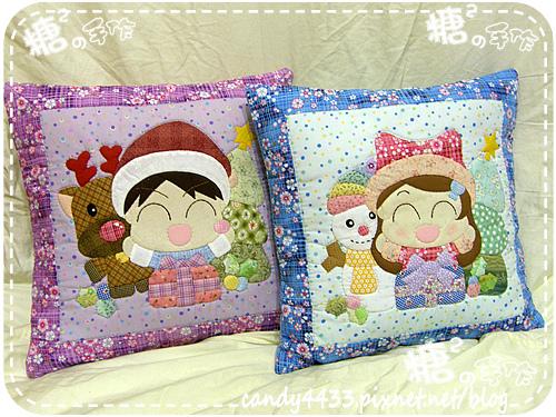 聖誕快樂抱枕組