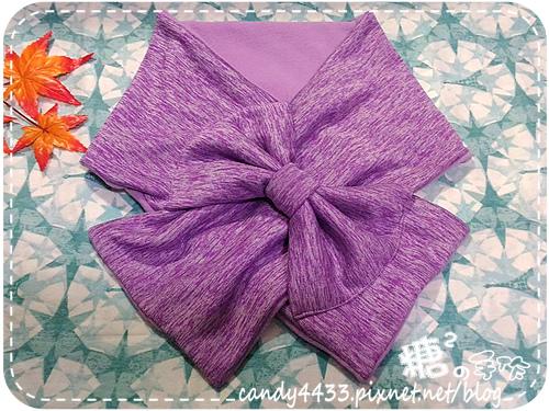 蝴蝶結圍巾02