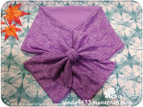 蝴蝶結圍巾01
