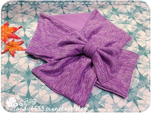 蝴蝶結圍巾03