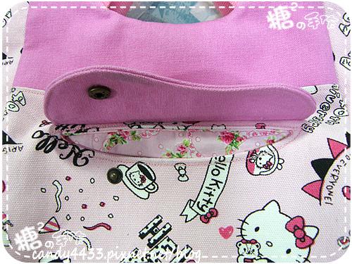 粉紅kitty手提後背包08