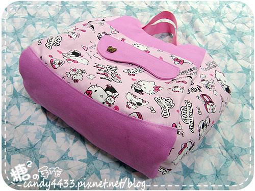 粉紅kitty手提後背包06