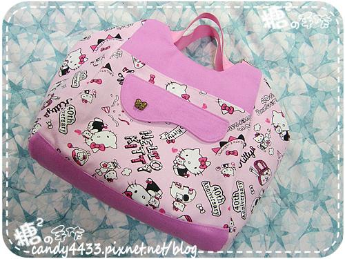 粉紅kitty手提後背包07