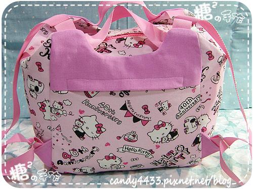 粉紅kitty手提後背包10
