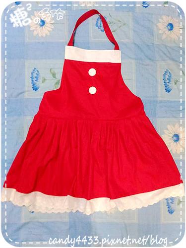 聖誕風圍裙2