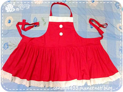 聖誕風圍裙1