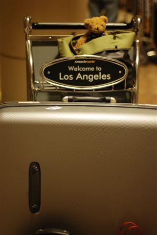 抵達LA機場