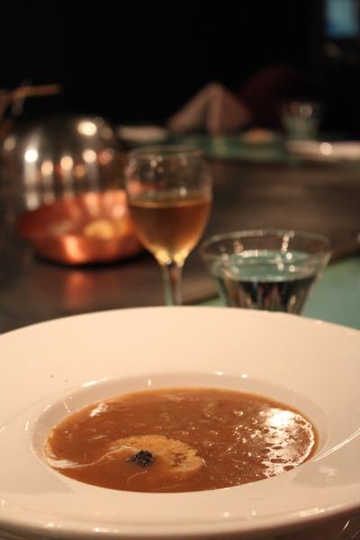 松露洋蔥湯