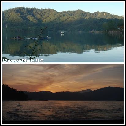 日出VS日落湖景