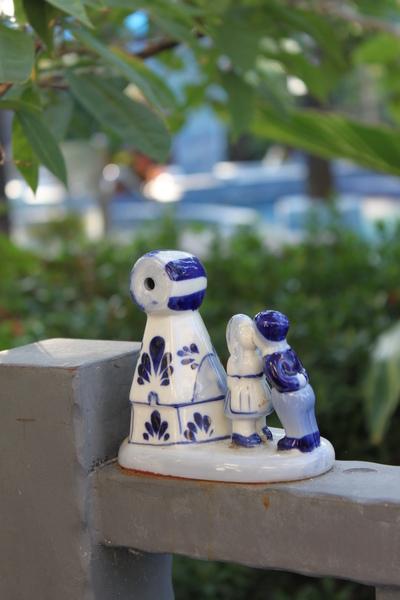 陶瓷情侶娃娃~為我們的旅程又增添了點浪漫...
