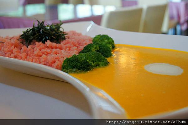 冢穀物--南瓜紅麴飯