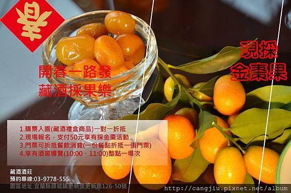 2018新春旅遊-藏酒採果樂