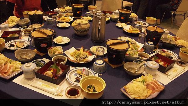 穗高溫泉宴會料理