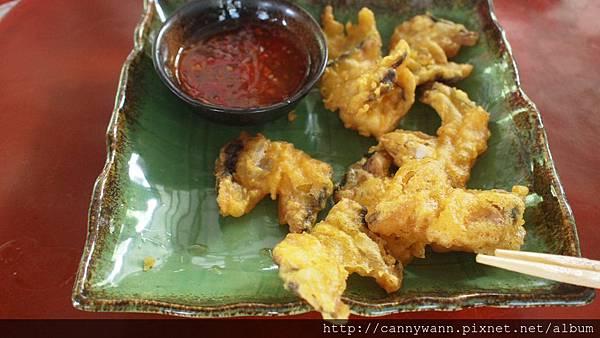 谷關吃蟳龍魚 (1)