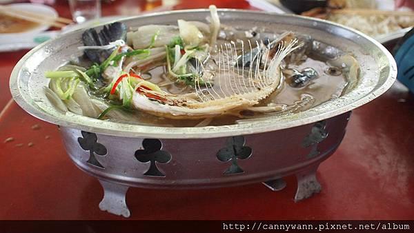 谷關吃蟳龍魚 (5)