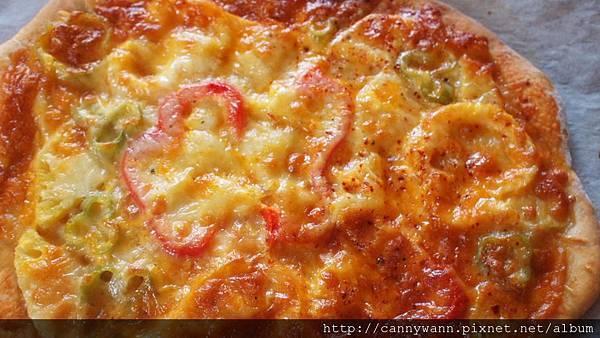 鳳梨甜椒披薩