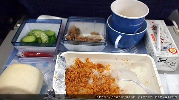 華航早餐~好吃的稀飯
