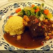 海德堡~騎士牛肉捲餐