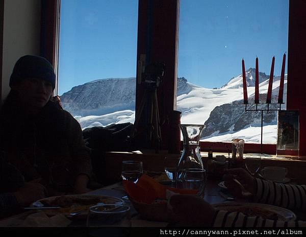 瑞士少女峰山頂西式餐 (2)