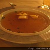 萊茵河古堡旅館內~情調晚餐 (3)