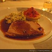 萊茵河古堡旅館內~情調晚餐 (4)