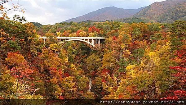 鳴子峽的秋景 (11)