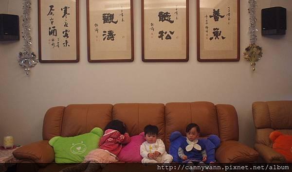20121223到姐姐家看聖誕樹 (1)