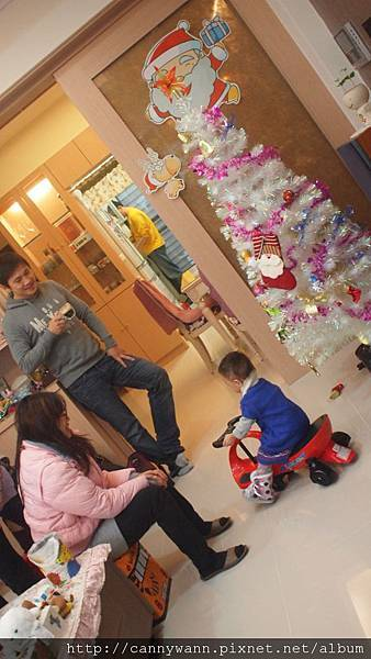 20121223到姐姐家看聖誕樹 (7)