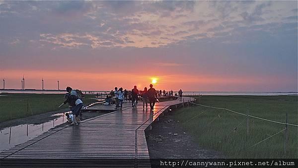 20130518高美濕地~木棧道