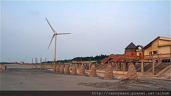 大安海水浴場~2013秋天的夕陽&風吹沙 (2)