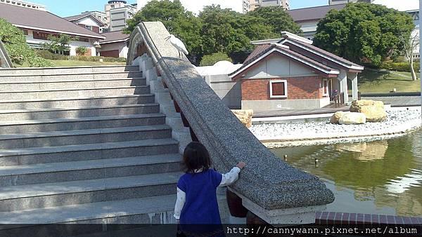 20131205藝術館的小白鷺鷥
