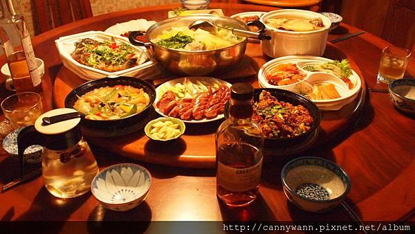 2014圍爐年菜 (2)