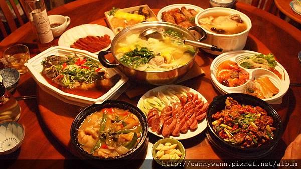 2014圍爐年菜 (1)