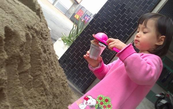 雪莉玩沙~3y
