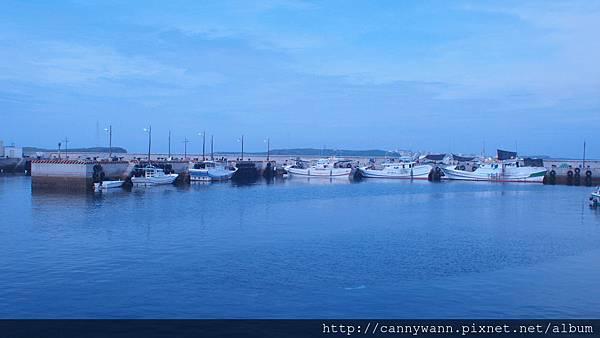 望安嶼~綠蠵龜觀光保育中心前