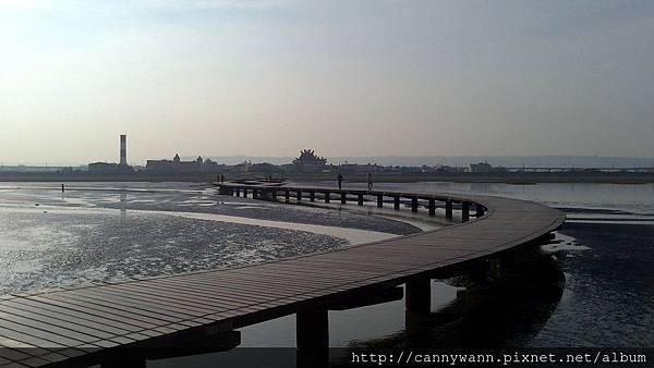 20140706高美溼地木棧道 (15)