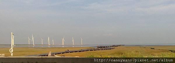 20140706高美溼地木棧道 (1)