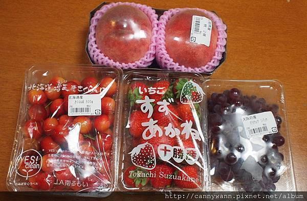 超市買的當季水果