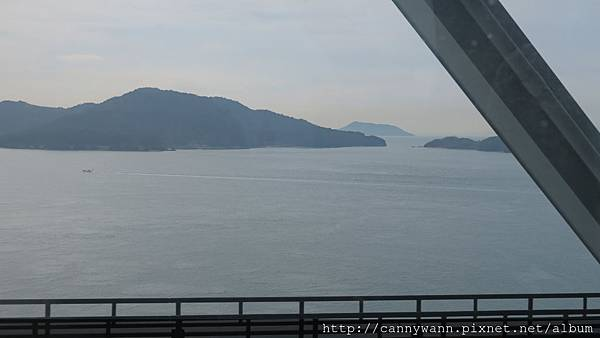 車行過瀨戶內海