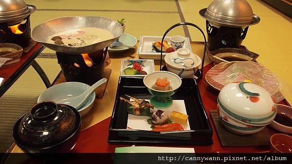 下呂溫泉望川館宴會料理