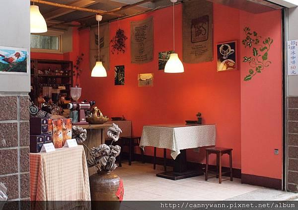 鹿谷鳳凰鳥園商店街~凍頂咖啡