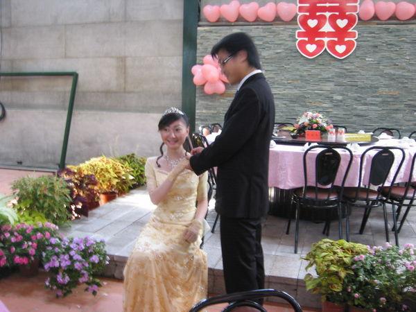 訂婚儀式,戴戒指