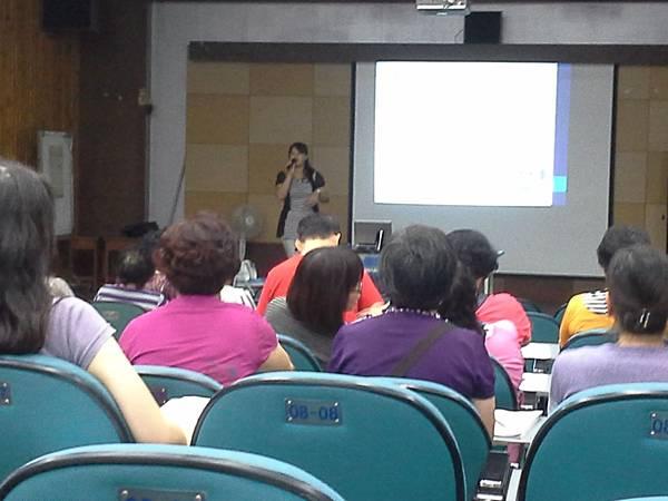 受邀至台中市第五區社區保母系統