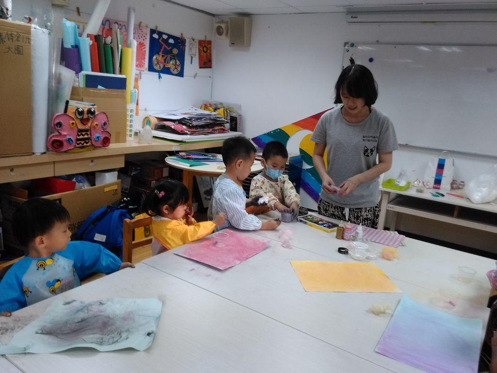 課後美陶~(8/22 課程記錄)